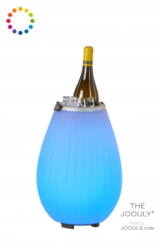 JOOULY 35 - Getränkekühler mit LED Licht und Bluetooth Lautsprecher - 2020 Generation