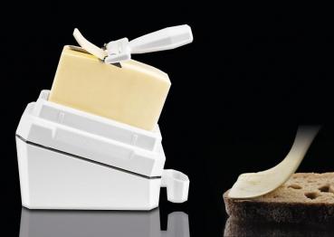 Butter - Leaf | Butter perfekt geschnitten | Butterdose und Buttermesser | bekannt aus dem TV