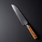 Mobile Preview: Shoko Santoku Messer seitlich komplett
