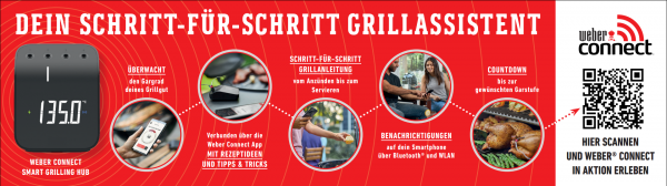 Weber Connect Smart Grilling Hub Grillanleitung